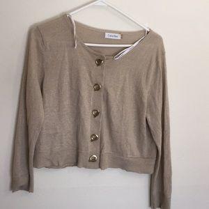 Calvin Klein sweater with logo full sleeve